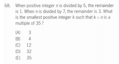 Math brainteasers from GMAT, 1 - Max's Two Cents